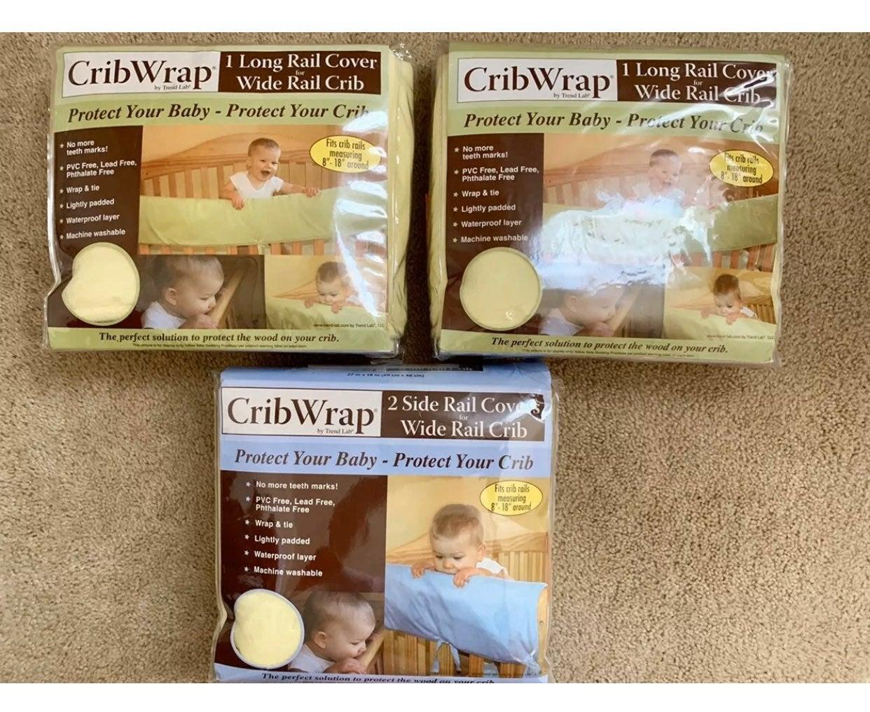 Trend Lab CribWrap Fleece Rail Cover for