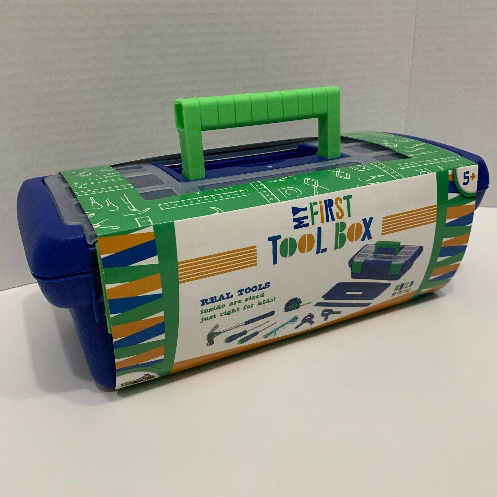 My First Tool Box Set Real Tool for Kids