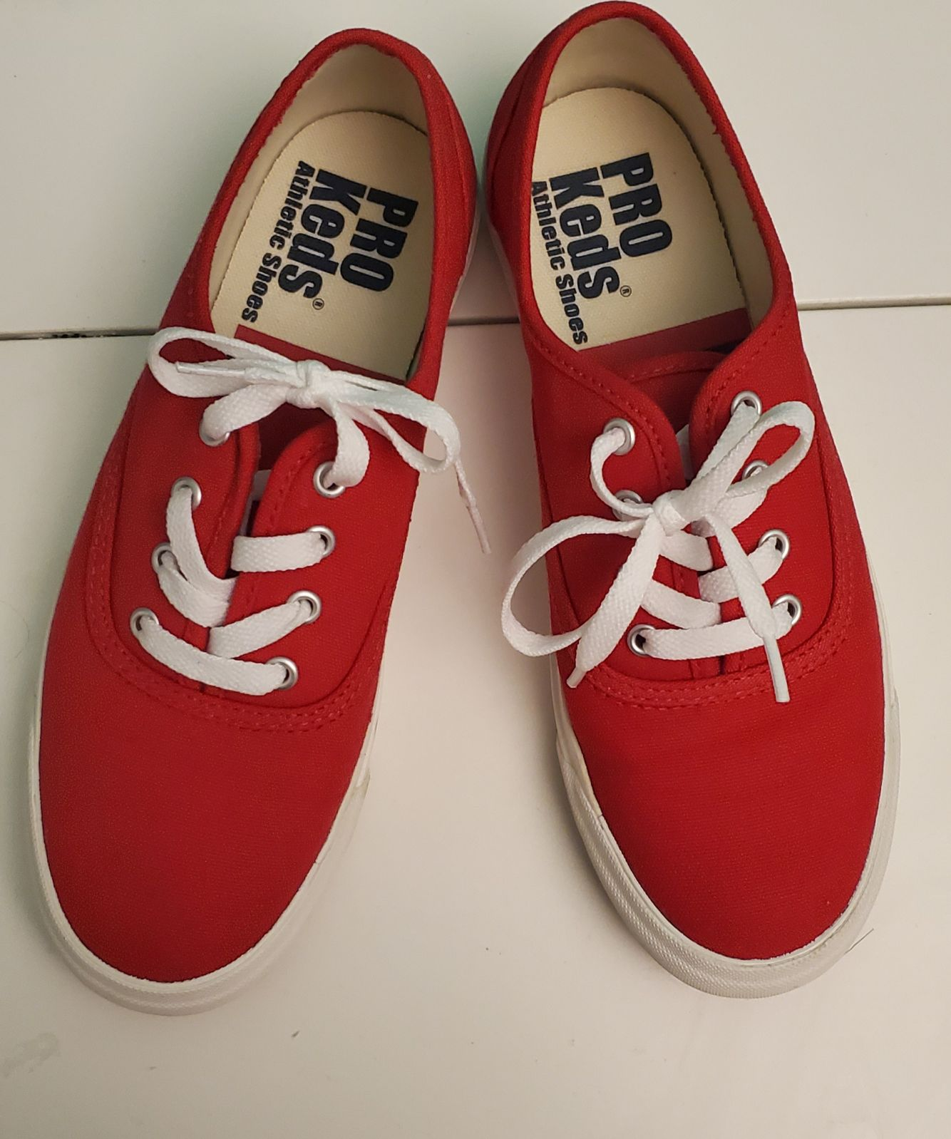 Pro Keds Canvas Shoes in Red