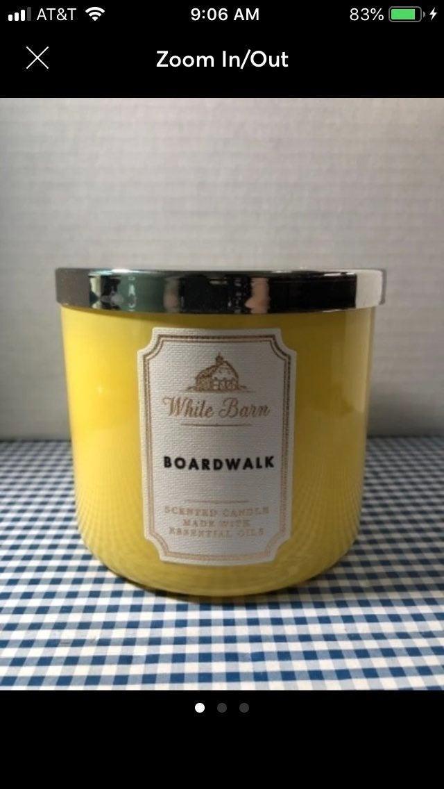 B&BW Boardwalk Candle