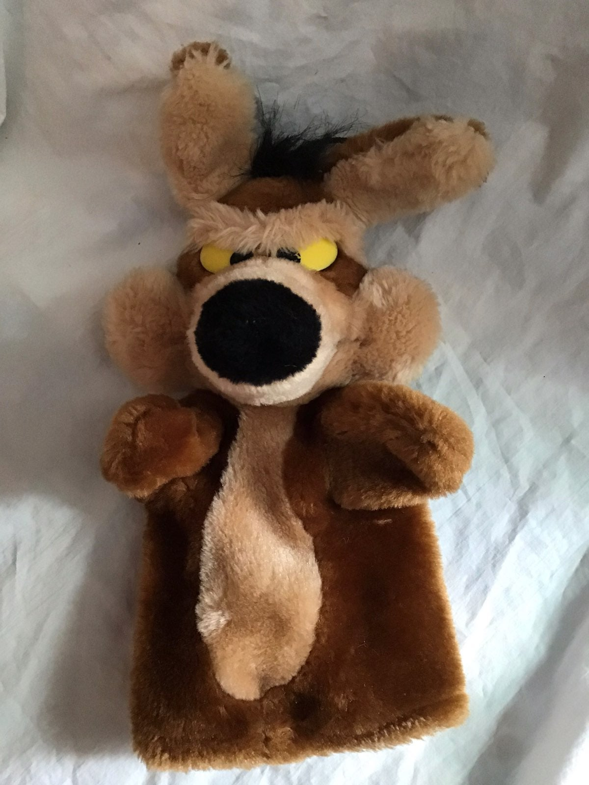 Wylie Coyote Vintage Hand Puppet