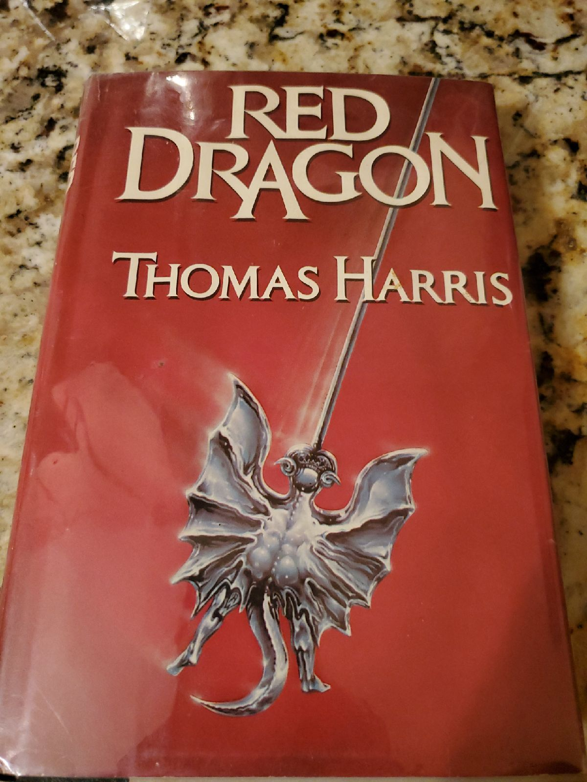 Red Dragon Hard Cover with Dust Jacket