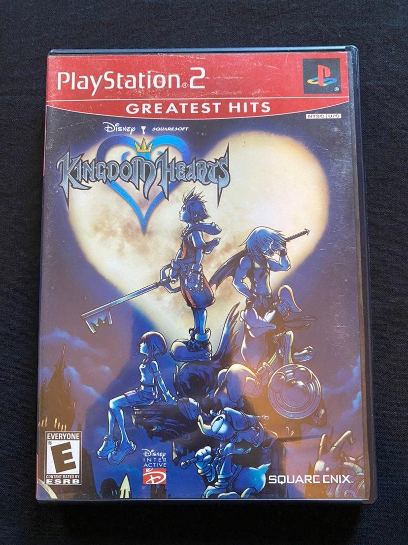 PS2 KINGDOM HEARTS GAME CIB GH RETRO CLA