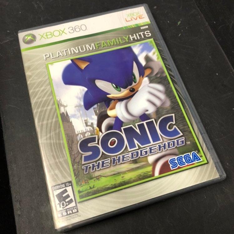 XBOX 360 Sonic The Hedgehog Complete CIB