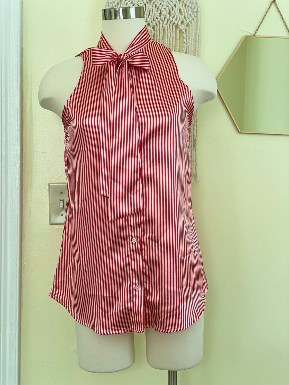 Stripes pattern blouse