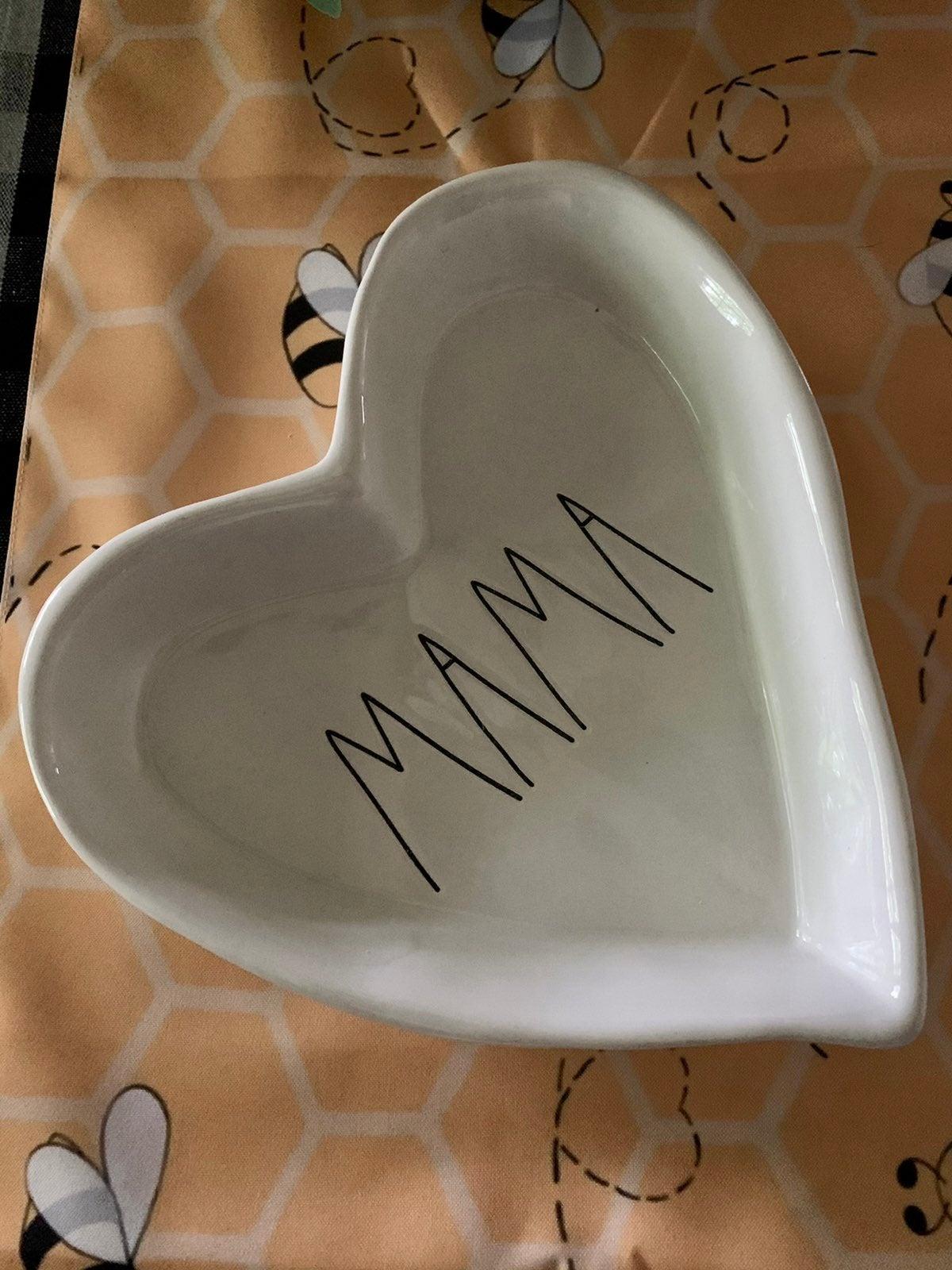 Rae Dunn MAMA Heart