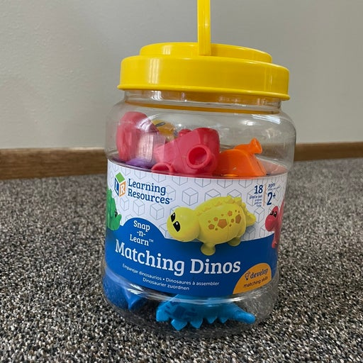 Learning Resources Matching Dinos