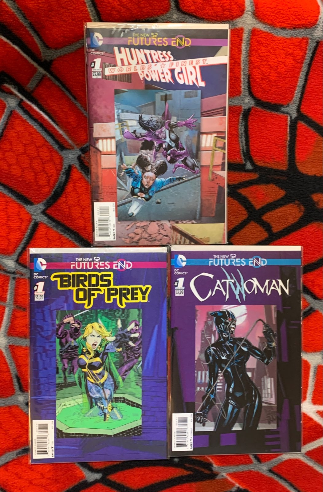 DC Futures End 3D cover lot of 3