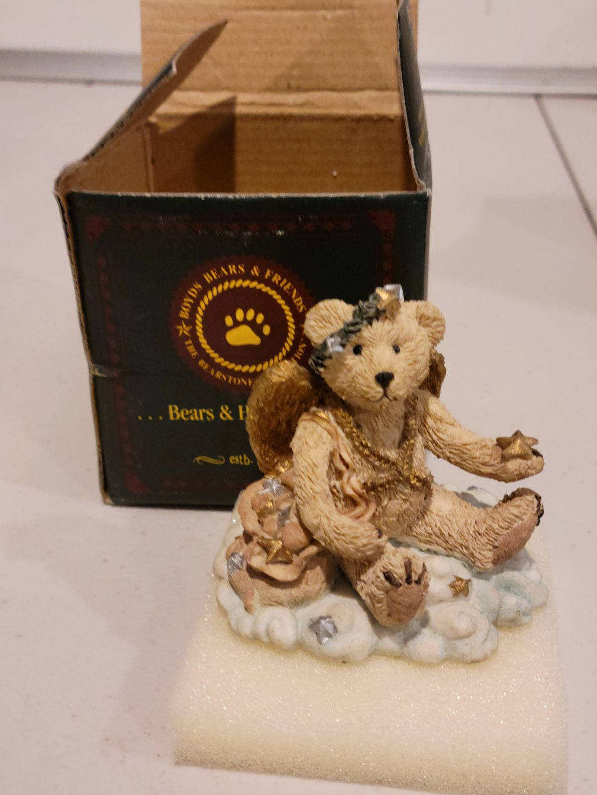Boyds Collection Juliette Angel Bear (Iv