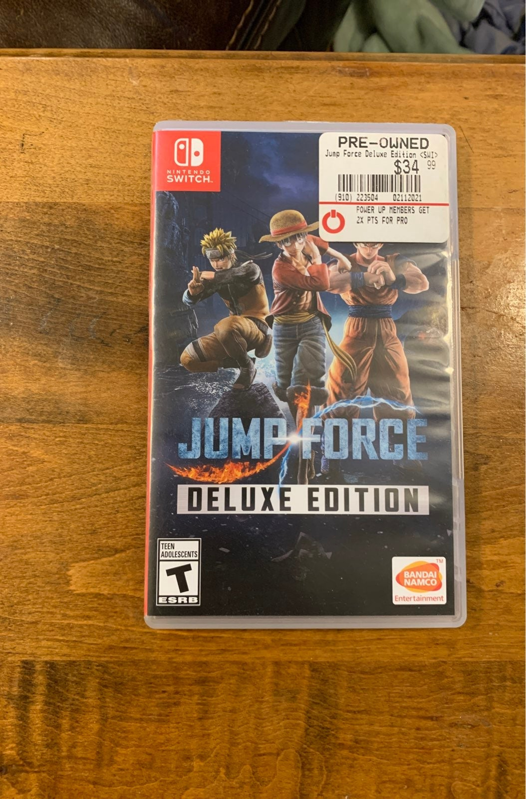 Jump force deluxe edition for Nintendo s