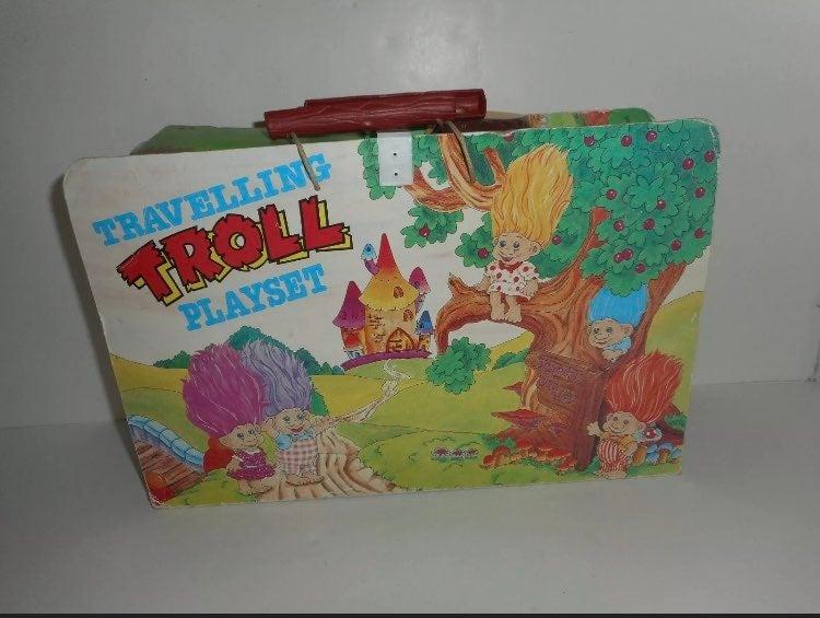 1982 troll dolls house set