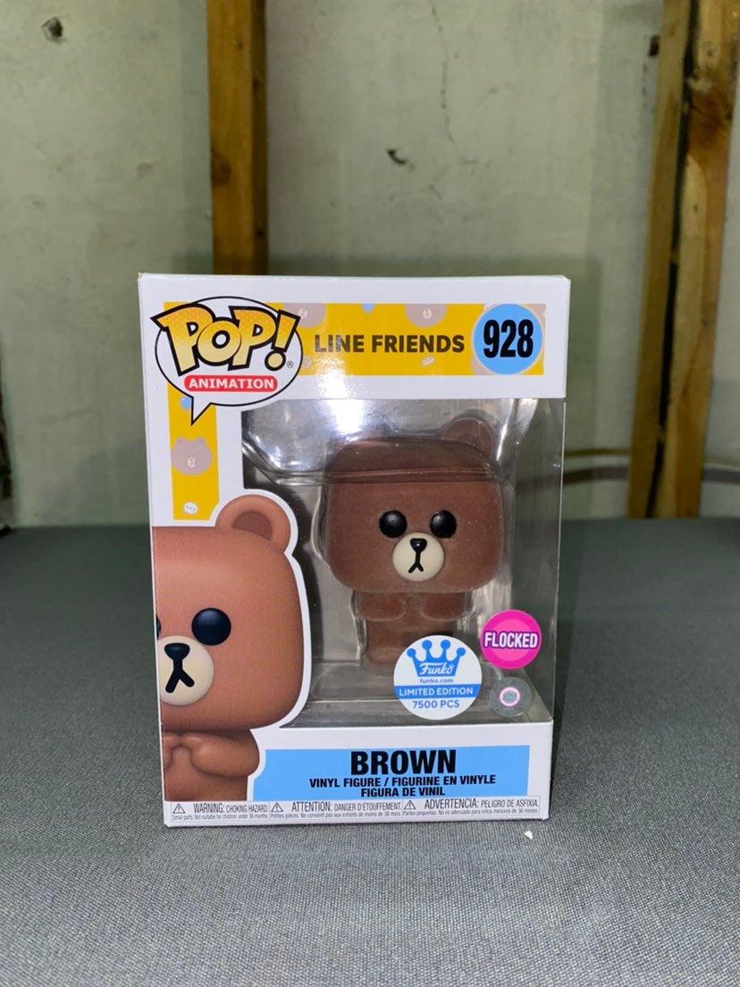Line Friends Brown Funko Pop