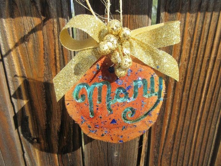 Mary Handmade Christmas Ornament