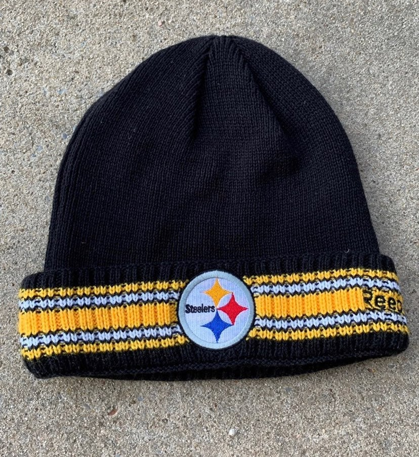 Pittsburgh Steelers beanie hat