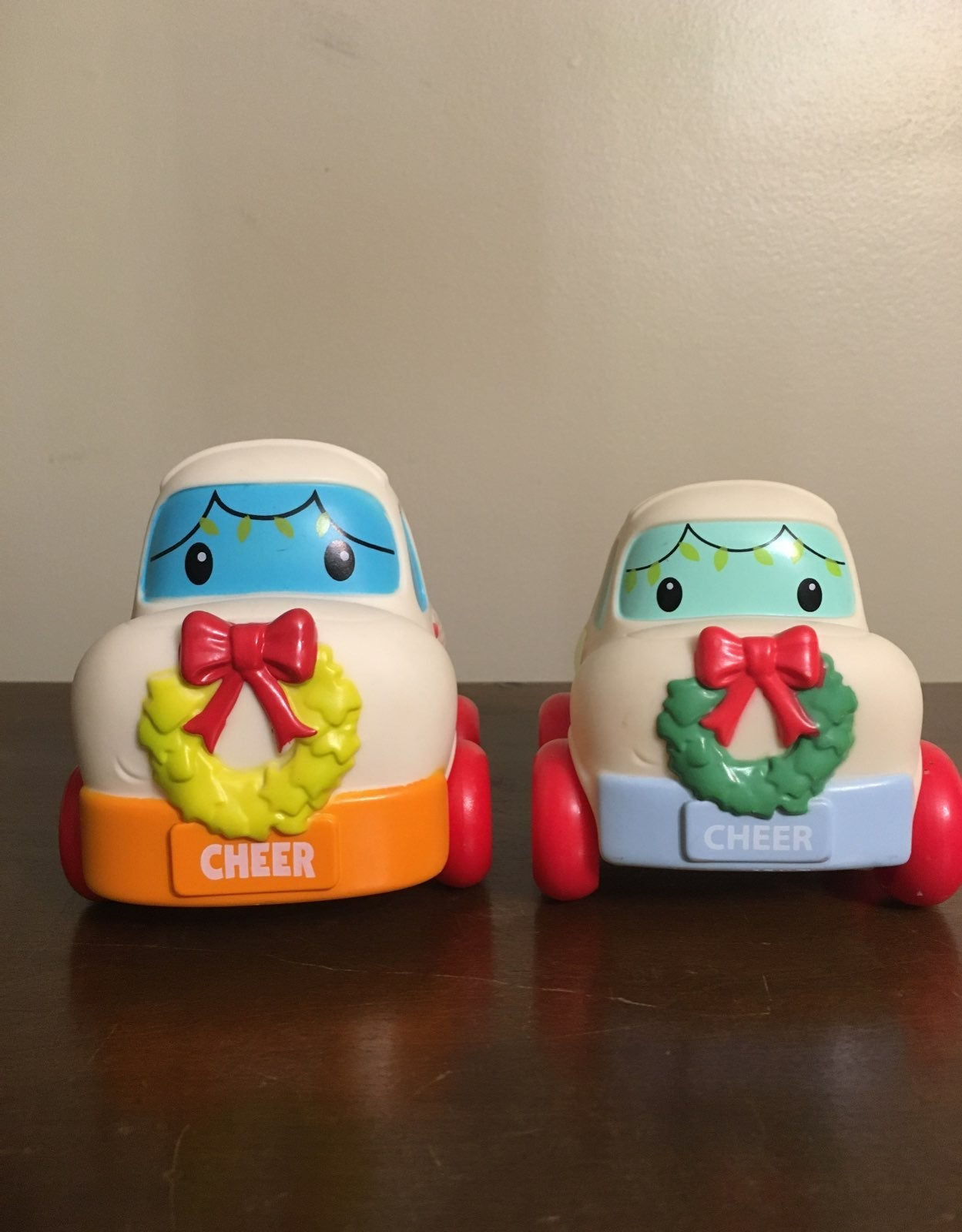 2 Infantino Baby Toy Merry Mover Cars