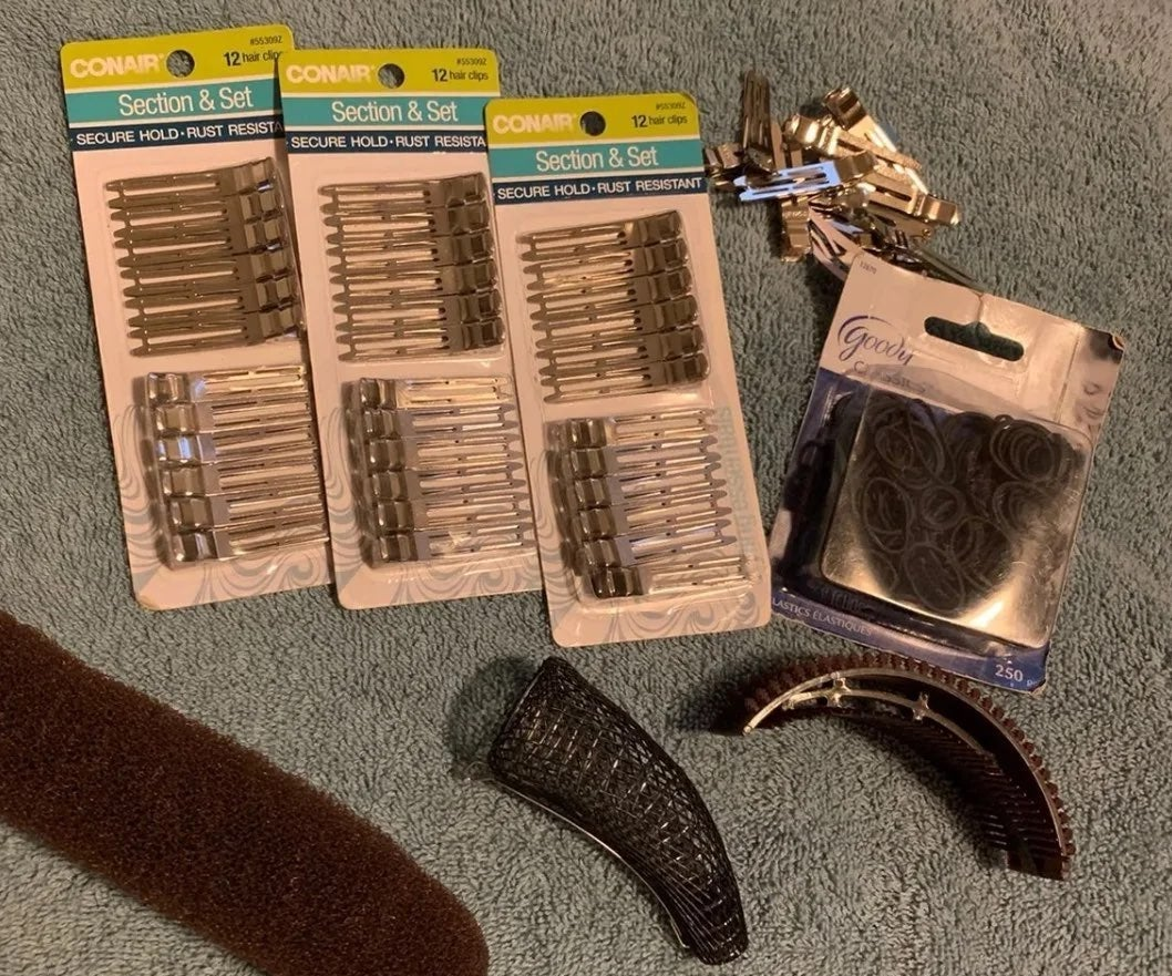 Hair Styling Accessories Bundle