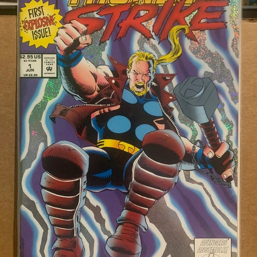 Thunderstrike 1 1993 Thor Love & Thunder