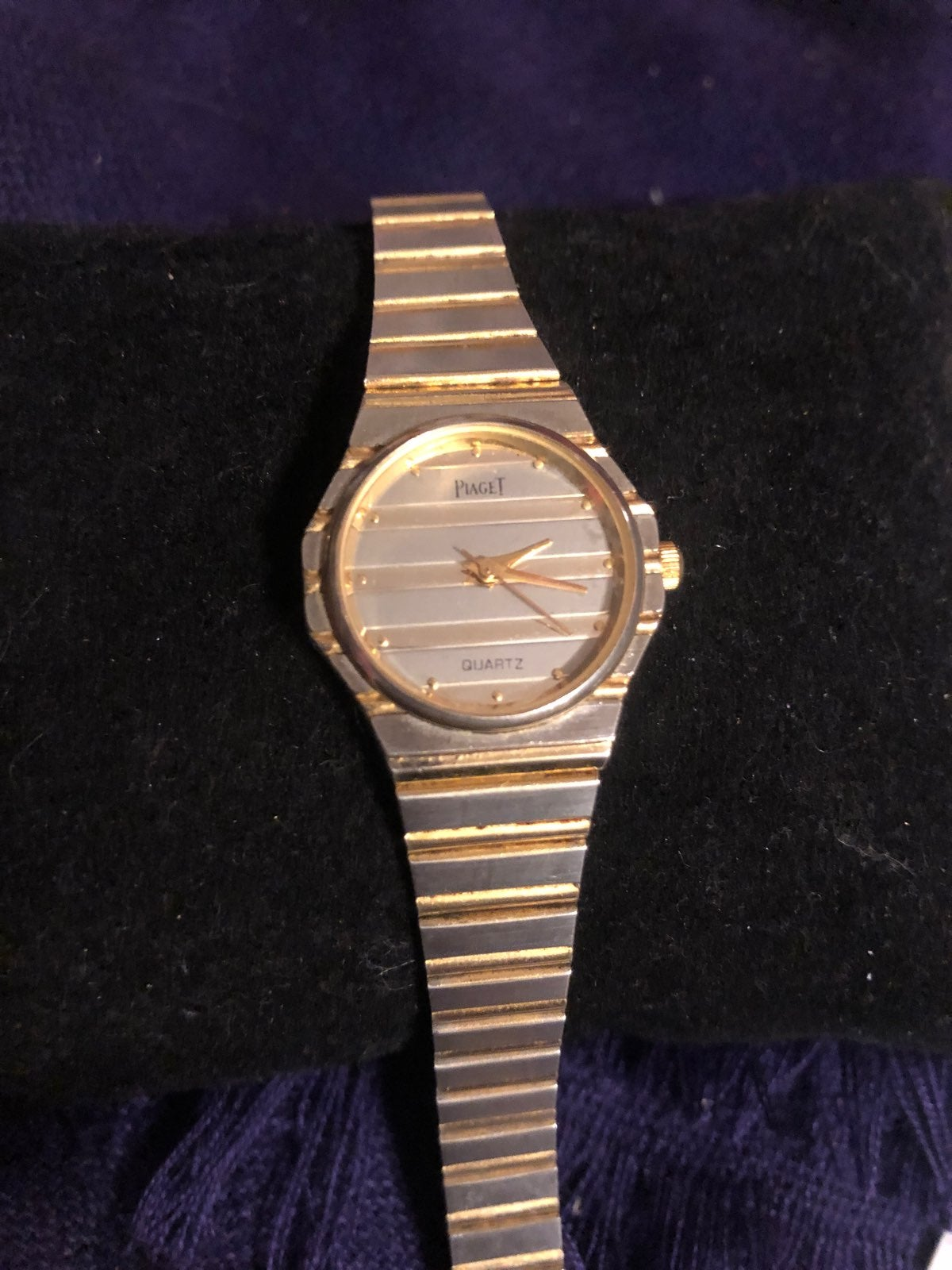 VTG  Silver&Gold Piaget Swiss Watch