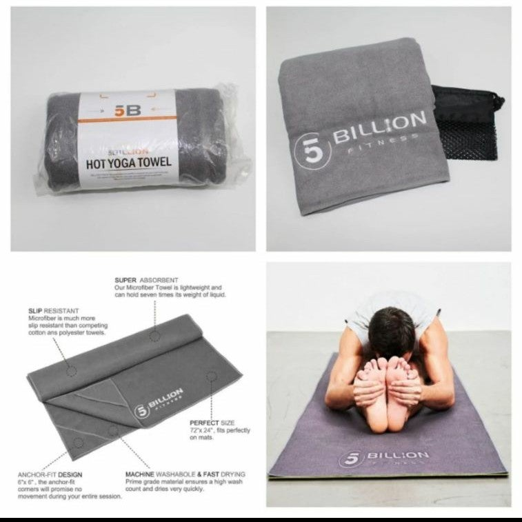 NEW Yoga Towel & Carry Bag Microfiber