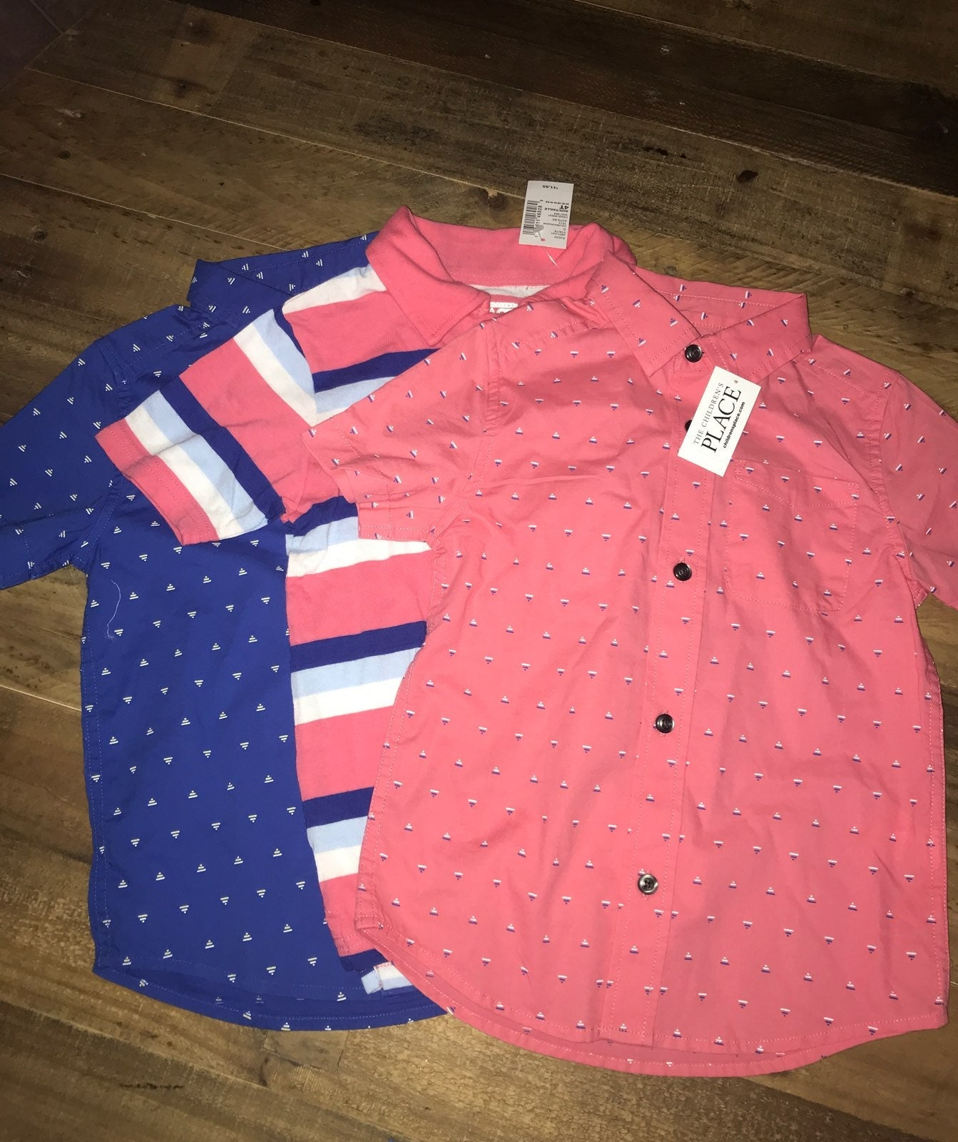 3-Pack Children's Place Boys Shirts 4T