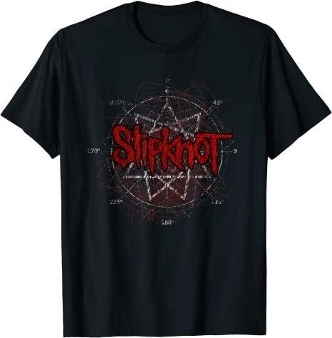 Slipknot Scribble Star Logo T-Shirt 13
