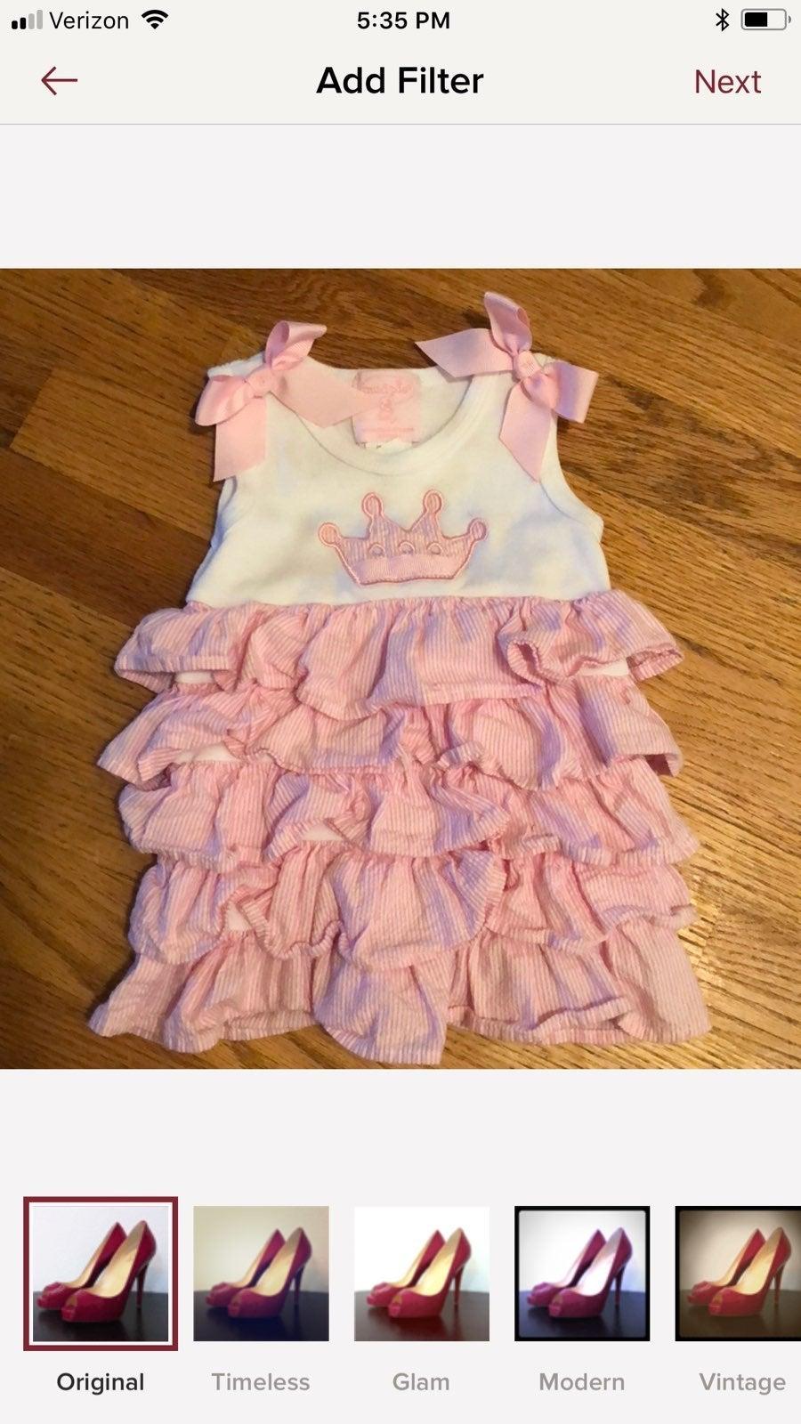 Baby Girls Mud Pie Dress