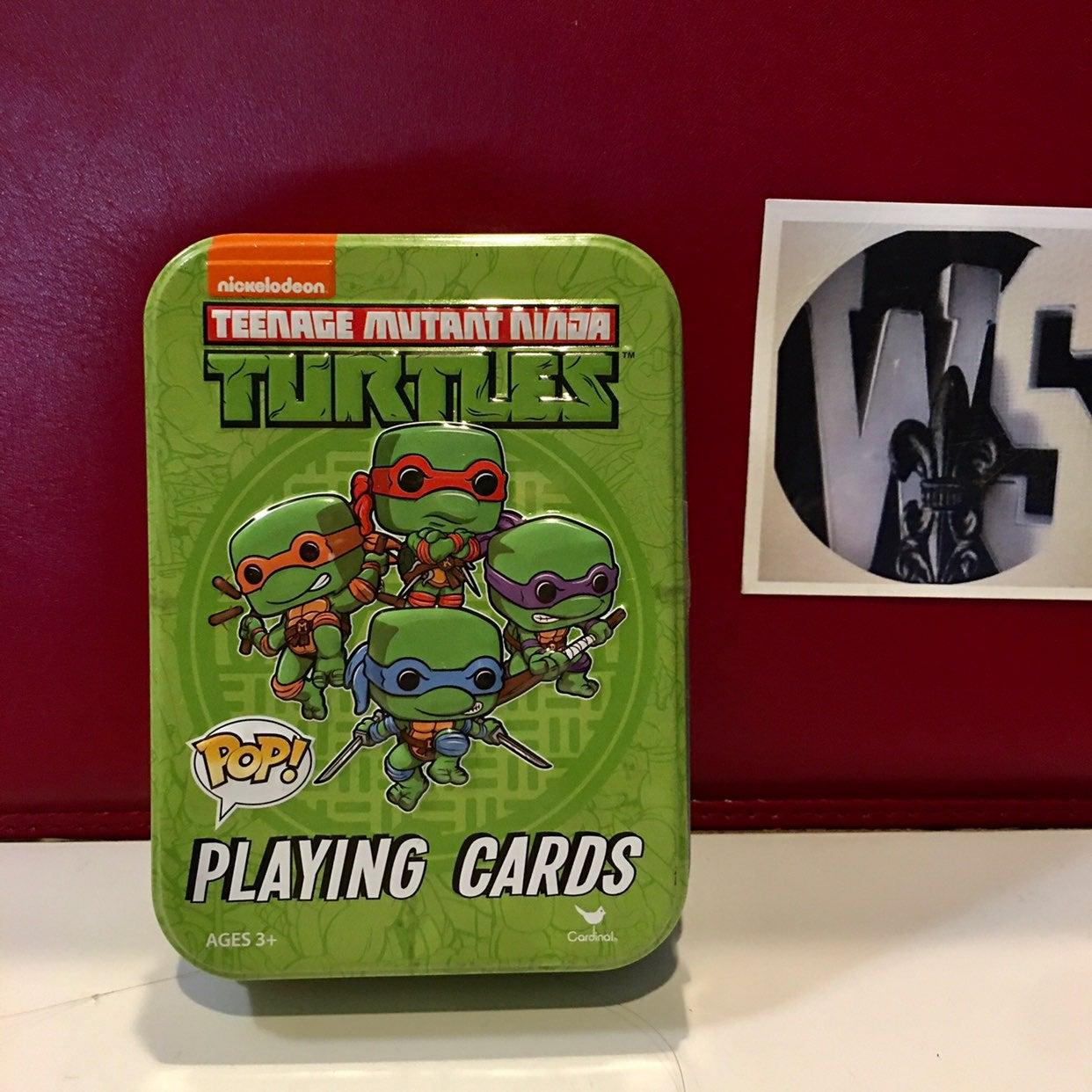 teenage mutant ninja turtles card game