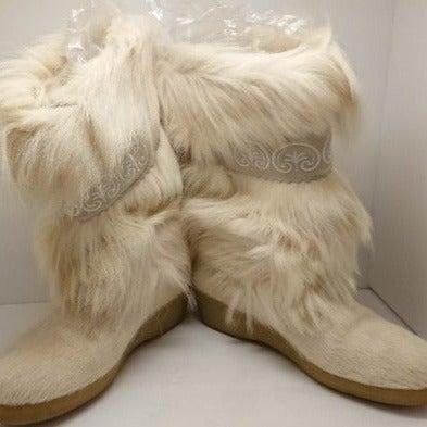 Designer Fur Boots TECNIKA