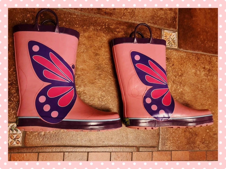 Western Chief Rain Boots - Butterflies
