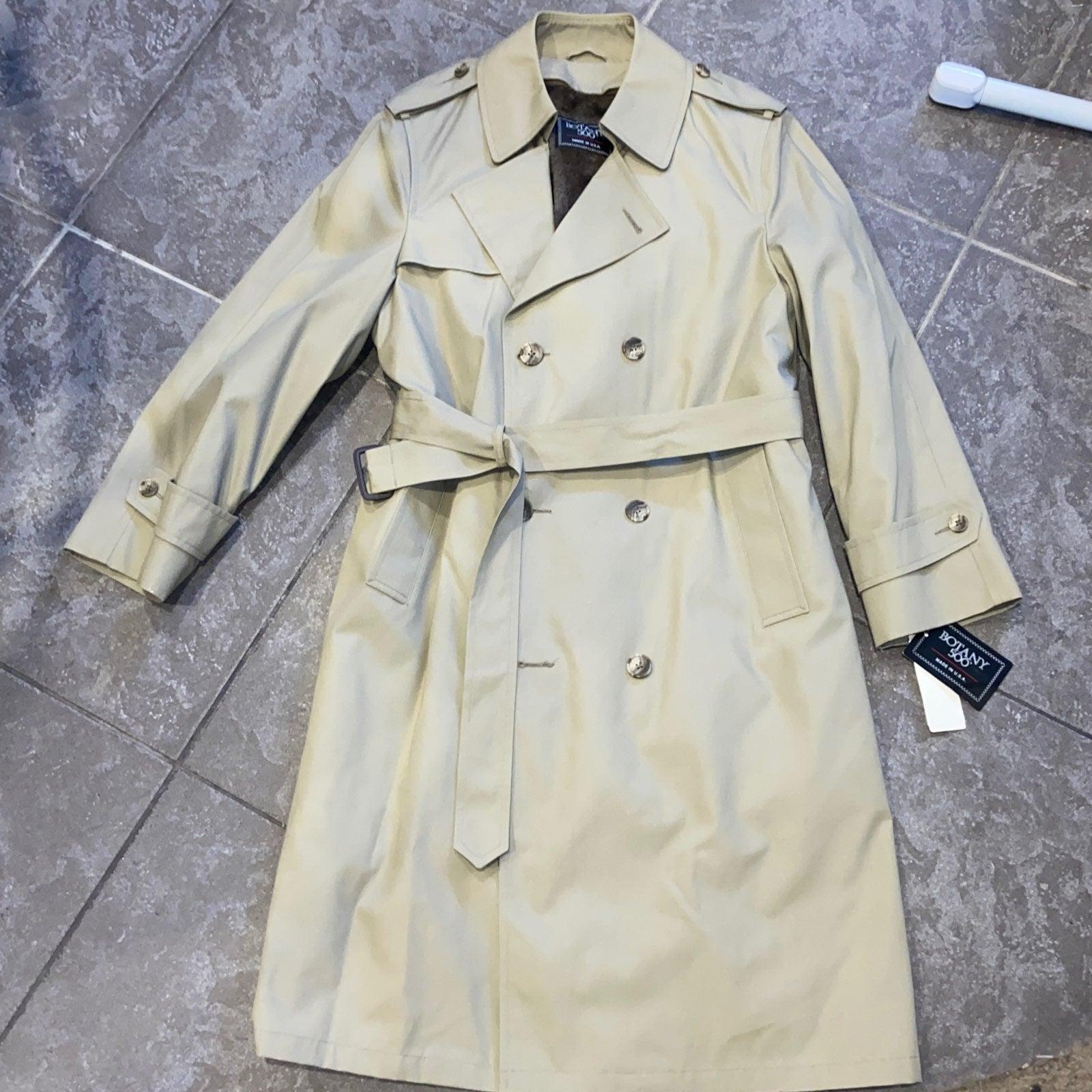 Trench Coat Botany 500 NWT $170