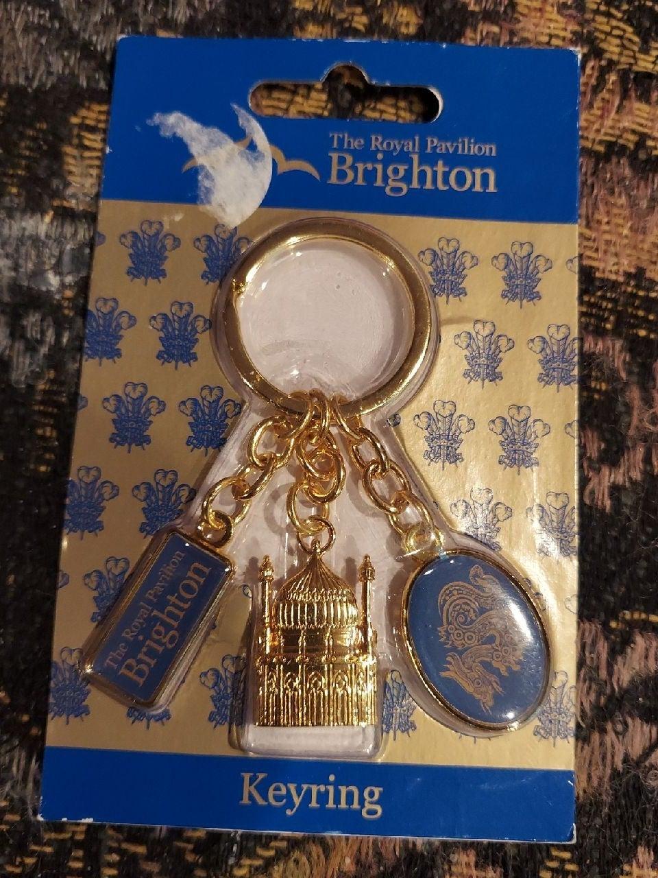 Royal pavilion Brighton vintage key ring