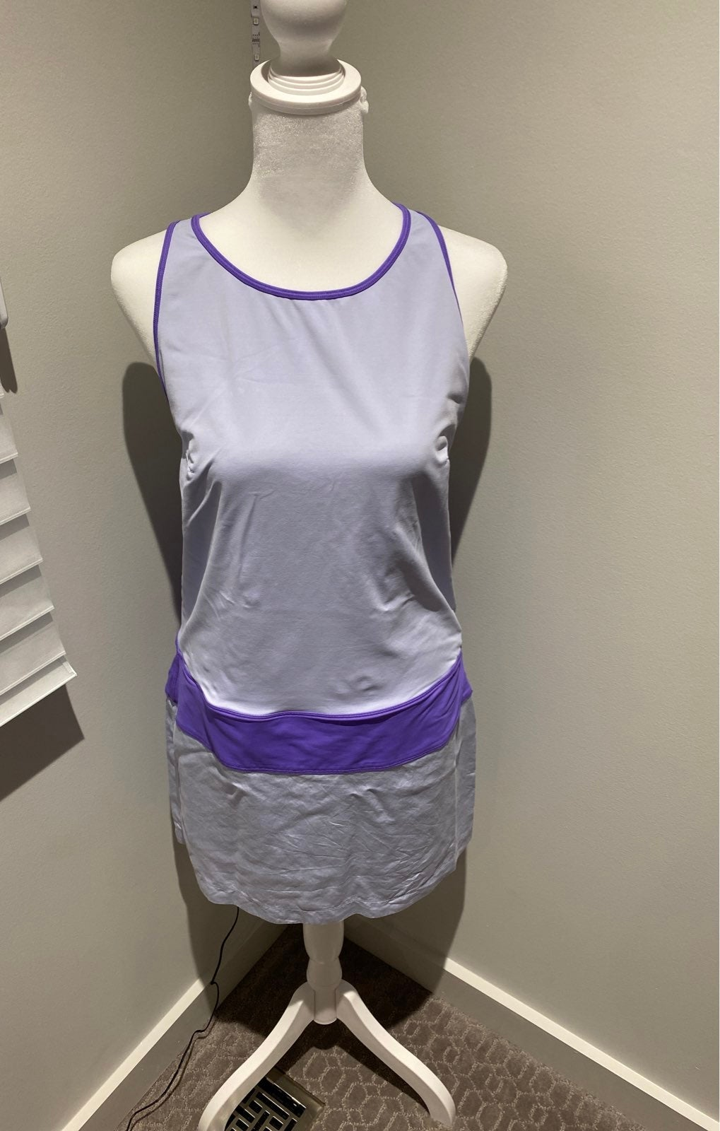 lululeom lavender tennis dress