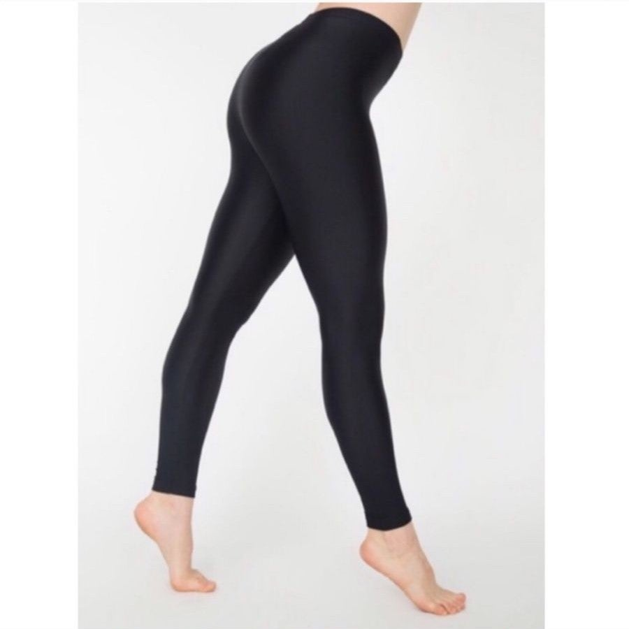 American apparel black high waist Leggin