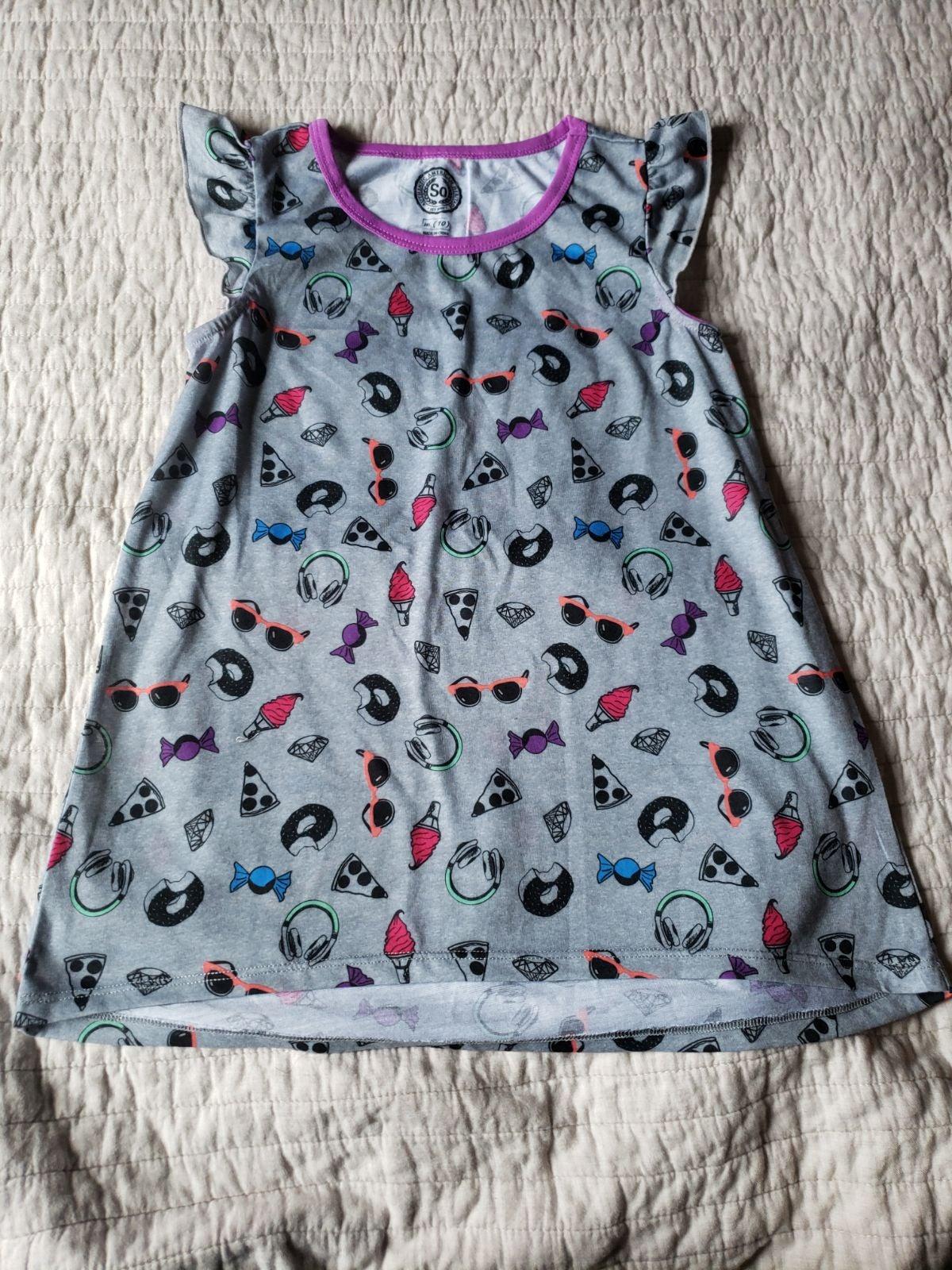 Girls pjs dress