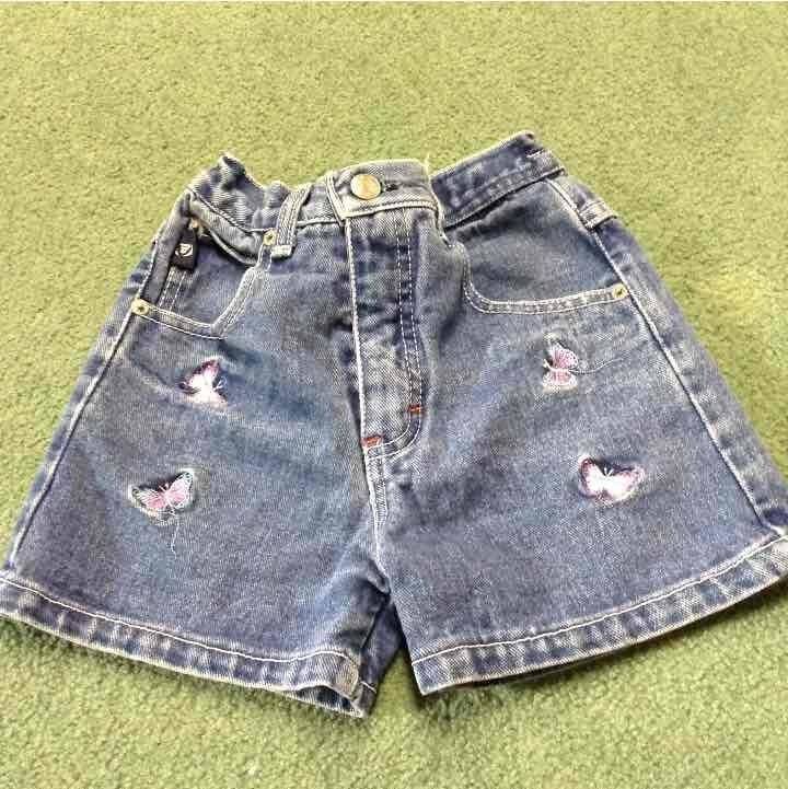 Toddler jean shorts