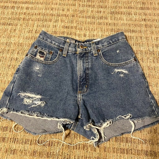 Vintage clothes Cruel Girl shorts women