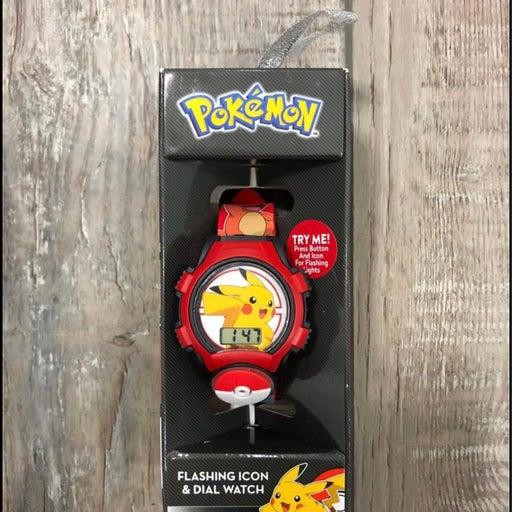 Pokemon Digital Light-Up Kid Watch