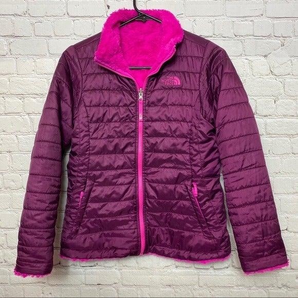 North Face Fleece Full Zip Reversible