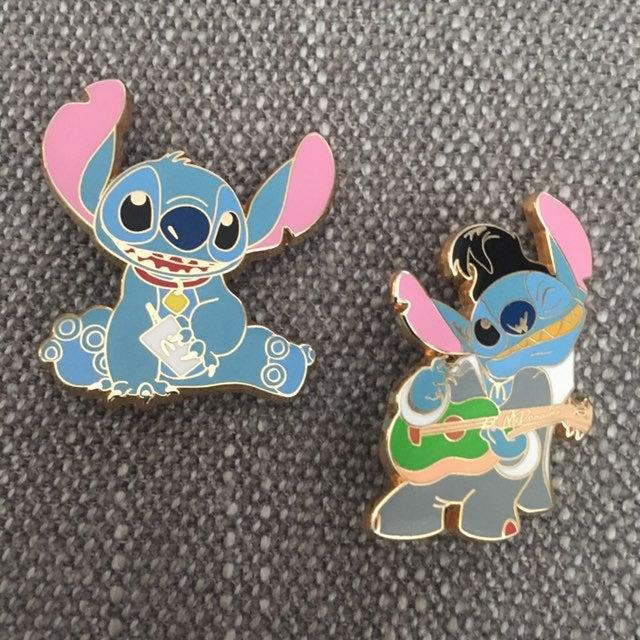 HTF Disney McDonalds Stitch Pins