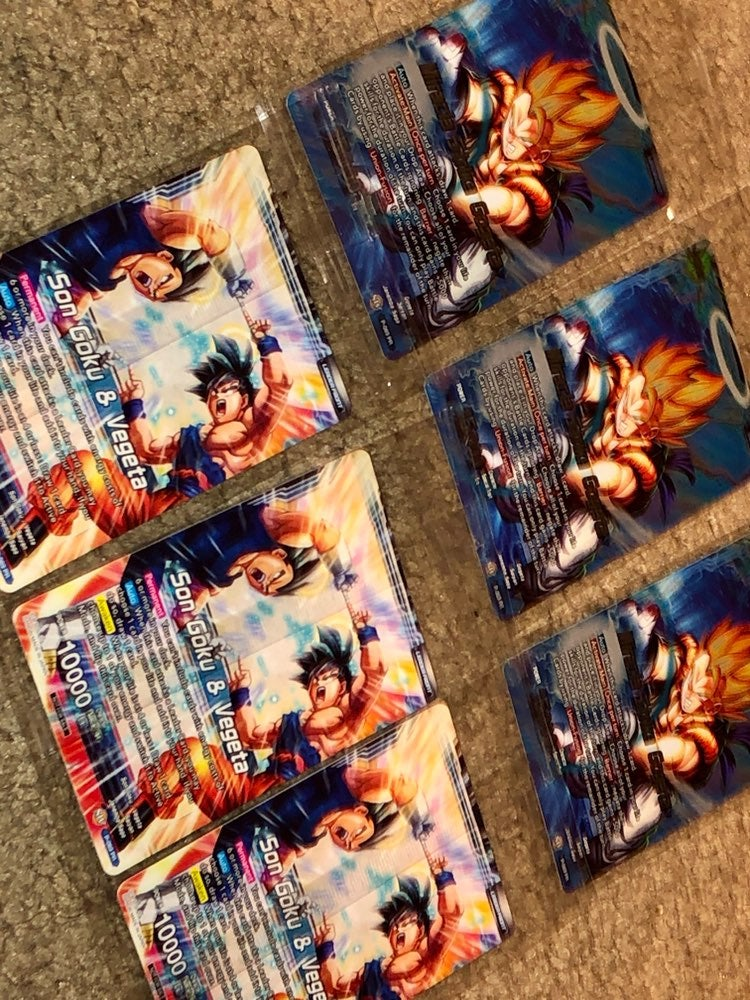 Anime Limited Edition Trading Cards