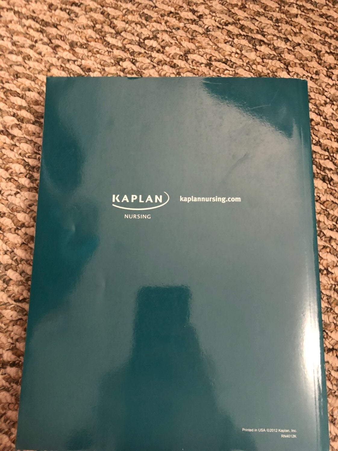 Kaplan NCLEX RN study book
