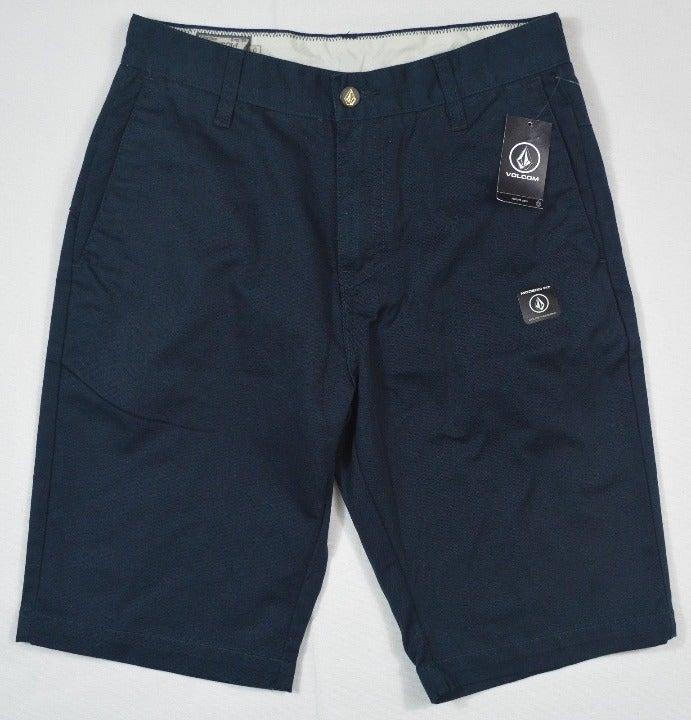 Volcom Vmonty Shorts Size 30 Navy New