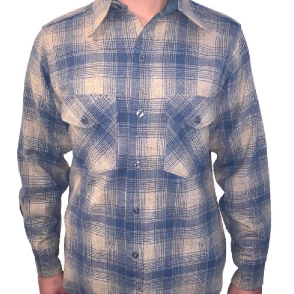 Vintage Woolrich Plaid Shirt Top Men's M