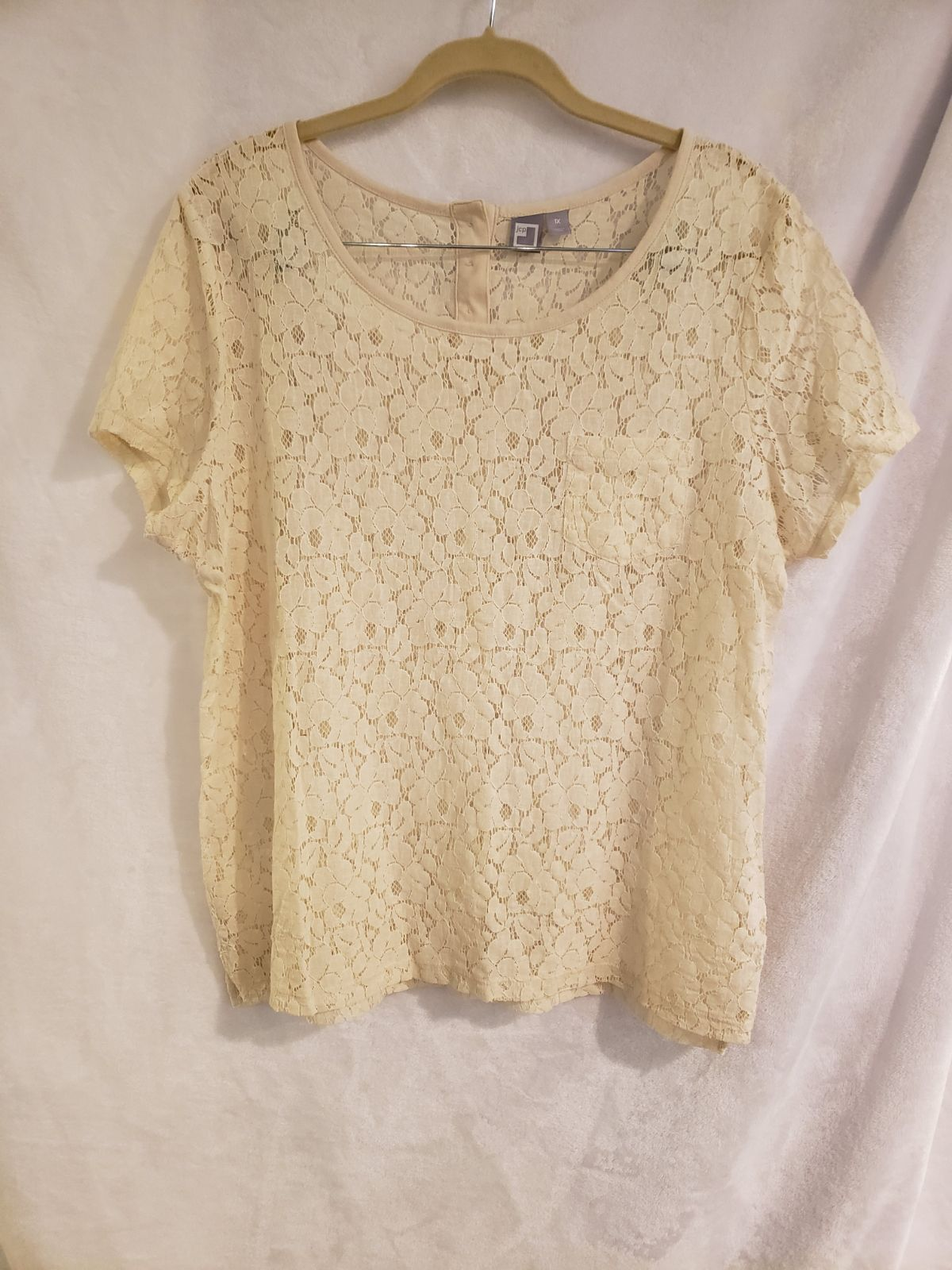 JCPenney 1X Lace Top