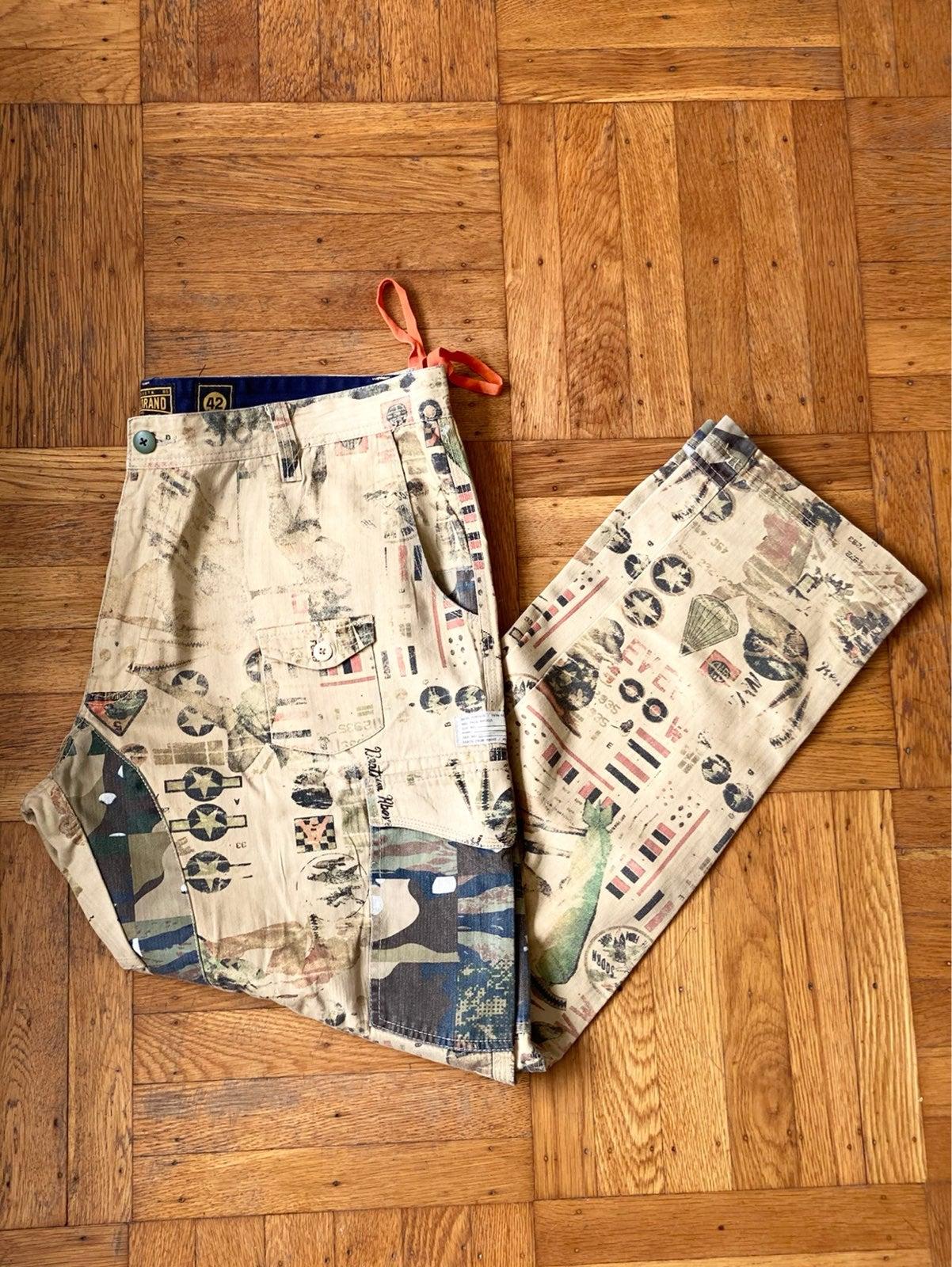 Akoo Cargo Pants Sz 42