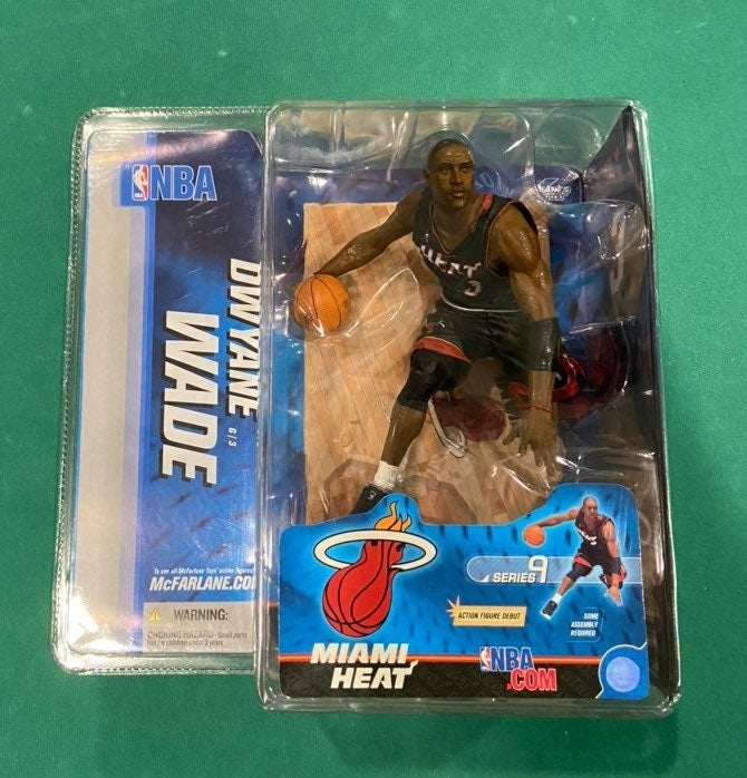 Dwayne Wade NBA Miami Heat Figure