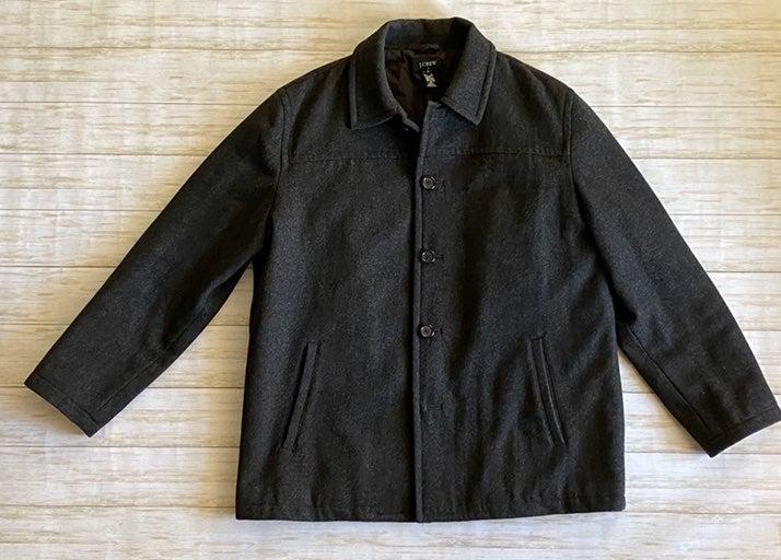 Men's J. Crew Grey 100% Wool Jacket