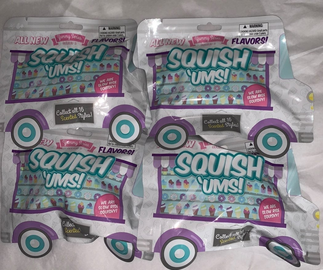 Squish ums yummy series blind bags new
