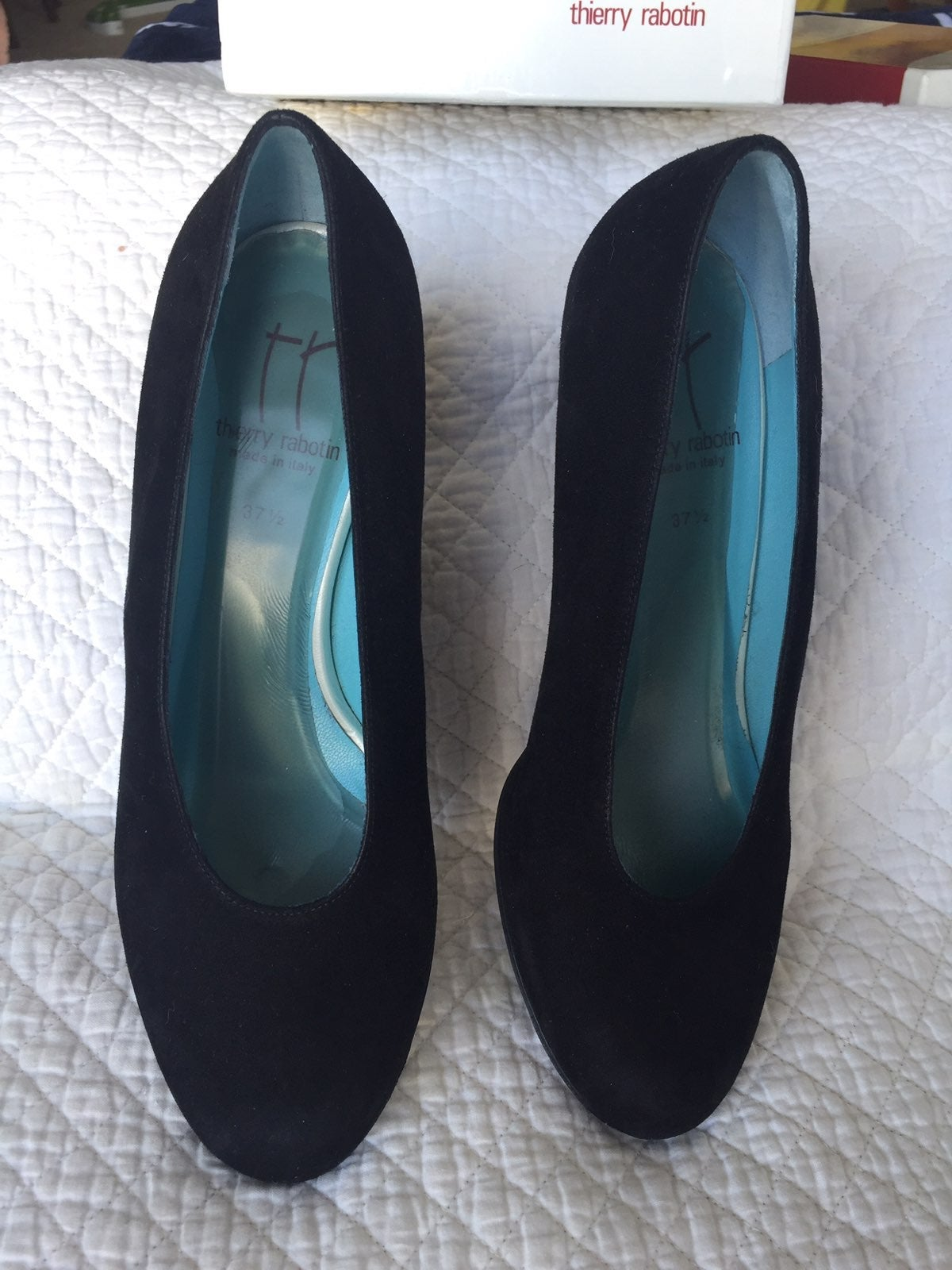Size 7 - Thierry Rabotin $425 Suede Heel