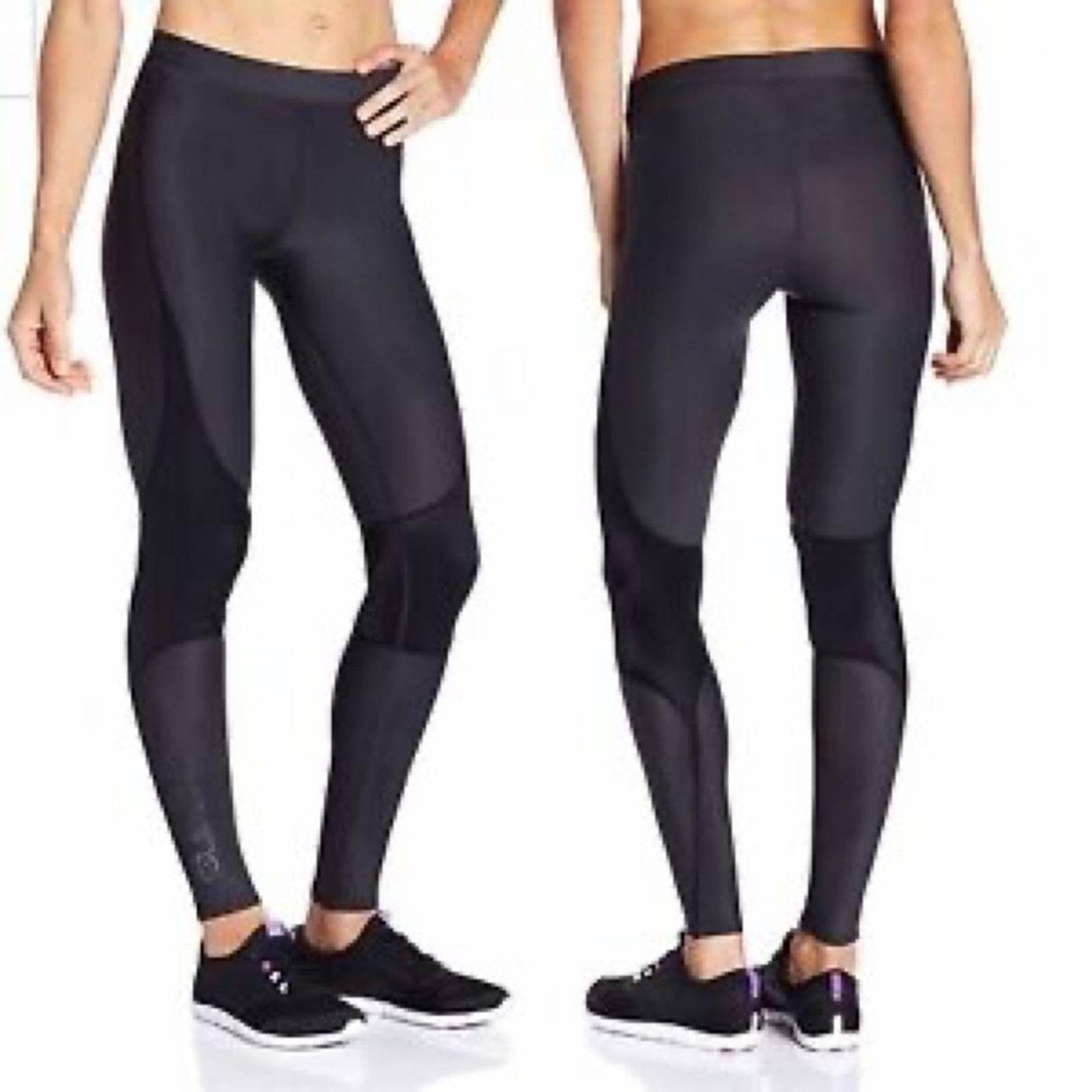 SKINS Black Recovery RY400  Leggings